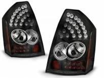 Комплект тунинг LED стопове за Chrysler 300C 2005-2008 с черна основа , ляв и десен