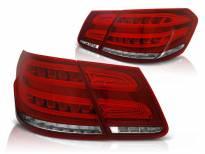 Комплект тунинг LED стопове за Mercedes E класа W212 2009-2013 червено/бели , ляв и десен