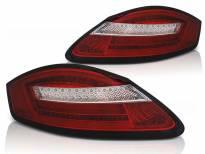 Комплект тунинг LED стопове за Porsche Boxster 987/Cayman 2005-2008 червено/бели , ляв и десен