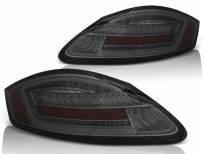 Комплект тунинг LED стопове за Porsche Boxster 987/Cayman 2005-2008 опушени , ляв и десен