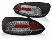 Комплект тунинг LED стопове за VW Scirocco III 2008-04.2014 с черна основа , ляв и десен