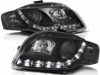 Комплект тунинг фарове с LED светлини за Audi A4 B7 11.2004-03.2008 седан/комби/кабрио , ляв и десен