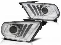 Комплект тунинг фарове с LED светлини за Ford MUSTANG 2010-2013 , ляв и десен