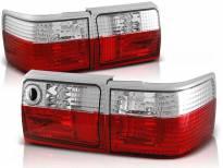 Комплект тунинг стопове за Audi 80 B3 09.1986-11.1991, B4 комби 09.1991-04.1996 с червена и бяла основа , ляв и десен