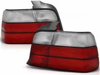 Комплект тунинг стопове за BMW E36 12.1990-08.1999 седан с червена и бяла основа , ляв и десен