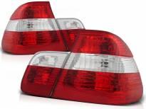 Комплект тунинг стопове за BMW E46 05.1998-08.2001 седан с червена и бяла основа , ляв и десен
