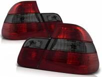 Комплект тунинг стопове за BMW E46 09.2001-03.2005 с червена и опушена основа , ляв и десен