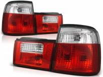 Комплект тунинг стопове за BMW E34 02.1988-12.1995 седан с червена и бяла основа , ляв и десен