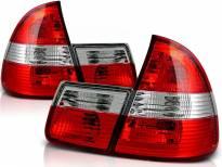 Комплект тунинг стопове за BMW E46 1999-2005 комби с червена и бяла основа , ляв и десен