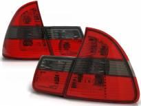 Комплект тунинг стопове за BMW E46 1999-2005 комби с червена и опушена основа , ляв и десен