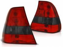 Комплект тунинг стопове за BMW E46 06.2001-12.2004 компакт с червена и опушена основа , ляв и десен