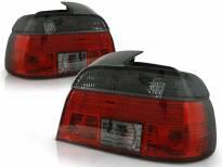 Комплект тунинг стопове за BMW E39 09.1995-08.2000 седан с червена и опушена основа , ляв и десен