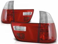 Комплект тунинг стопове за BMW X5 E53 09.1999-10.2003 с червена и бяла основа , ляв и десен