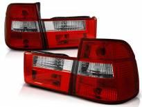 Комплект тунинг стопове за BMW E34 1991-1996 комби с червена и бяла основа , ляв и десен