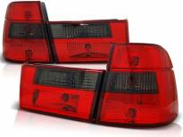 Комплект тунинг стопове за BMW E34 1991-1996 комби с червена и опушена основа , ляв и десен