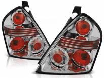 Комплект тунинг стопове за Fiat STILO 10.2001-2007 3 врати с хром основа , ляв и десен