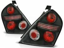 Комплект тунинг стопове за Fiat STILO 10.2001-2007 3 врати с черна основа , ляв и десен