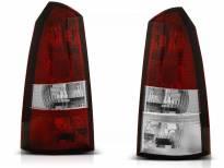 Комплект тунинг стопове за Ford FOCUS 1 10.1998-10.2004 комби с червена и бяла основа , ляв и десен