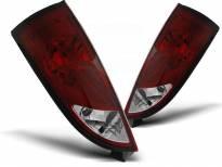 Комплект тунинг стопове за Ford FOCUS 1 10.1998-10.2004 хечбек с червена и бяла основа , ляв и десен