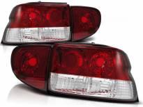 Комплект тунинг стопове за Ford ESCORT MK6/7 1993-2000 седан, хечбек, кабрио с червена и бяла основа , ляв и десен