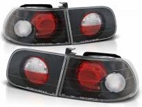 Комплект тунинг стопове за Honda CIVIC 09.1991-08.1995 3 врати с черна основа , ляв и десен