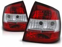 Комплект тунинг стопове за Opel ASTRA G 09.1997-02.2004 3/5 врати, хечбек с червена и бяла основа , ляв и десен