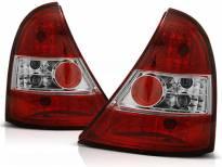 Комплект тунинг стопове за Renault CLIO 3 09.2005-04.2009 3/5 врати с червена и бяла основа , ляв и десен