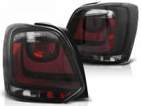 Комплект тунинг стопове за Volkswagen POLO 2009- хечбек с червена и бяла основа , ляв и десен