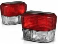 Комплект тунинг стопове за Volkswagen T4 1990-03.2003 с червена и бяла основа , ляв и десен