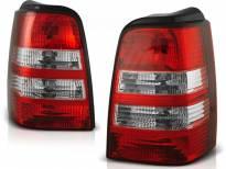 Комплект тунинг стопове за Volkswagen GOLF 3 09.991-08.1987 комби с червена и бяла основа , ляв и десен