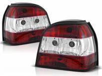 Комплект тунинг стопове за Volkswagen GOLF 3 09.1991-08.1997 хечбек, кабрио с червена и бяла основа , ляв и десен