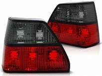 Комплект тунинг стопове за Volkswagen GOLF 2 08.1983-08.1991 хечбек с червена и опушена основа , ляв и десен