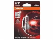 Халогенна крушка Osram H7 Night Breaker Silver 12V, 55W, PX26d, 1500lm, 1 брой в блистер