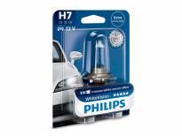 Халогенна крушка Philips H7 White Vision12V, 55W, PX26D, 1 брой