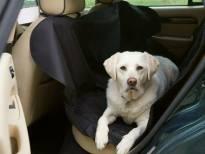 Универсално защитно покривало за задните седалки на автомила