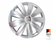 """Декоративни тасове PETEX 15"""" Venture pro silver, 4 броя"""