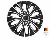 "Декоративни тасове PETEX 16"" Voltec pro black/white, 4 броя"