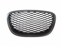 Черна решетка без емблема тип пчелна пита за Seat Leon 2006-2009