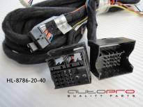 Захранващ кабел 5M с 40 пина конектор за мултимедийна система Hualingan HL8786