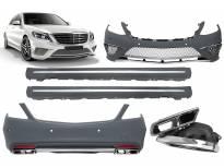 AMG пакет тип S65 за Mercedes S класа W222 2013-2017 с PDC дълга база