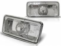 Комплект странични мигачи за Seat Ibiza 1993-1996/Cordoba 1993-1996/VW Golf III 1991-1995/VW Vento 1992-1995 с хром основа ляв + десен