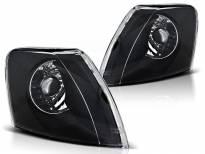 Комплект тунинг мигачи към фара за VW Passat B5 1996-2000 с черна основа ляв + десен