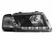 Тунинг фарове с истински DRL светлини за Audi A3 8L 08.1996-08.2000