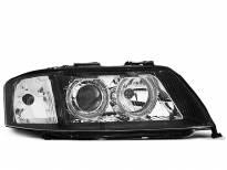Тунинг фарове за Audi A6 05.1997-09.1999 с черна основа