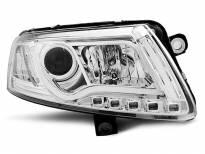 Тунинг фарове с LED светлини за Audi A6 C6 04.2004-2008 седан/комби