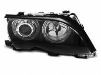 Тунинг фарове с LED ангелски очи за BMW 3 E46 09.2001-03.2005 седан/комби