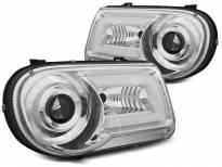 Тунинг фарове с LED светлини за Chrysler 300C 2005-2010 седан/комби
