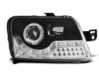 Тунинг фарове с LED светлини за Fiat PANDA 2003-