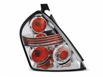 Тунинг стопове за Fiat STILO 10.2001-2007 3 врати с хром основа