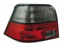 Тунинг стопове за Volkswagen GOLF 4 09.1997-09.2003 хечбек с червена и опушена основа